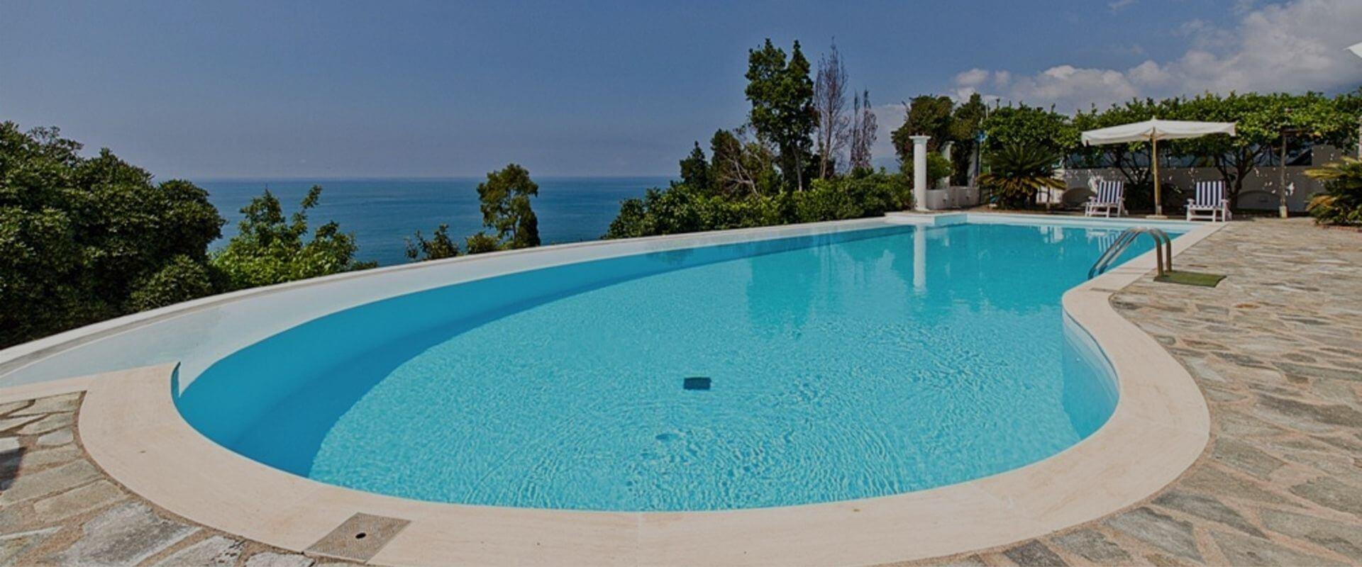 Villa Blanca pool