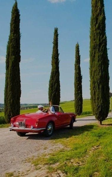 Vintage Car Tuscany
