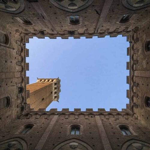 Italain Castle Tower